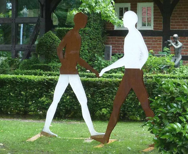 Abbey Road (Detail) (Schlestein, Reiner)
